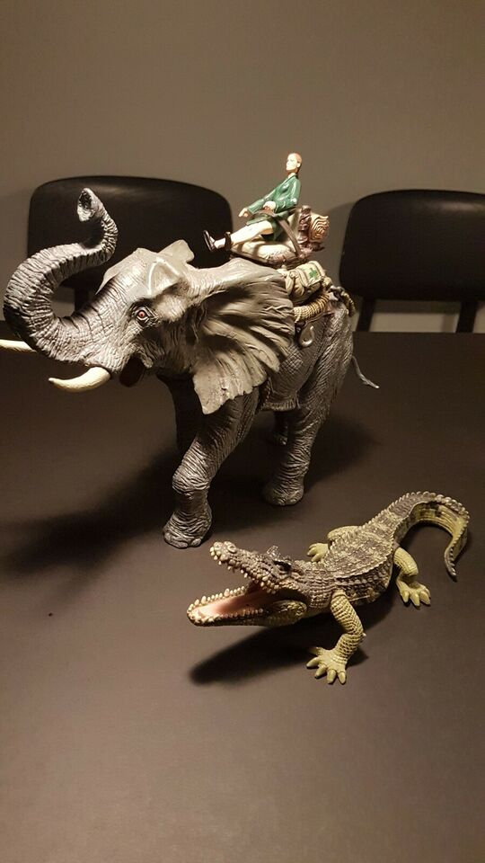 Figurer, Elefant og krokodille, BR