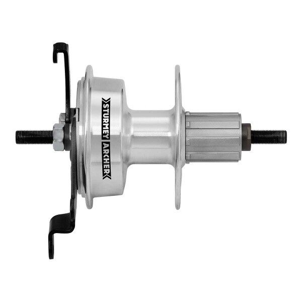 Sturmey Archer X-RDC Aluminium Drum Brake Hub for Cassette Freewheel - 36 Hole