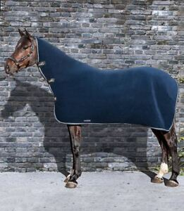 Image Is Loading Equiline Sheffield Fleece Combo Rug Navy In Colour