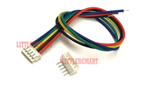 50-SET-Mini-JST-ZH-1-5-5-Pin-Female-Connector-15cm-wire-lead-Right-Angle-Header