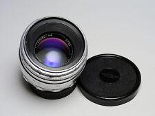 HELIOS-44 white KMZ Russian m39 m42 lens.