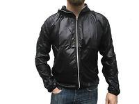 Core Spirit Demobaza Mens Designer Light Weight Black Windbreaker Hoodie Jacket