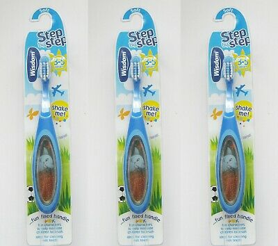 WISDOM STEP BY STEP 3-5 YRS TOOTHBRUSH *