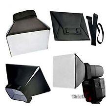 Universal Foldable Soft Box Flash Diffuser Dome For Canon Nikon Sony Pentax
