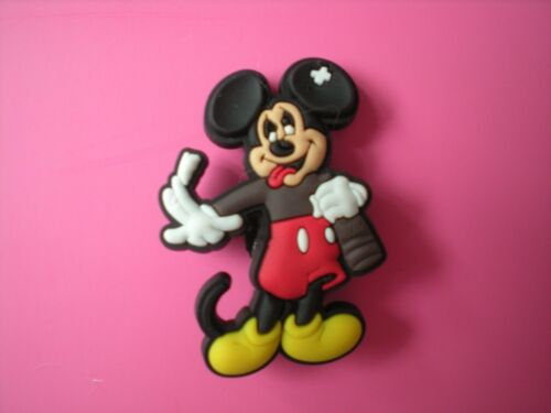 Clog Shoe Charm Button Plug 4 Disney Mickey Minnie Mouse Accessories Wristband