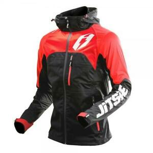 JITSIE-GLOW-TRIALS-BIKE-RIDING-JACKET-BLACK-RED-WATERPROOF-BEST-PRICE-SSDT