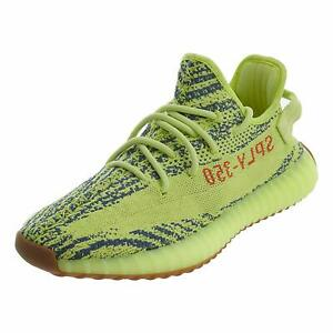 f5ca85051 ADIDAS MENS YEEZY BOOST 350 V2 SNEAKERS FROZEN YELLOW B37572 YELLOW ...