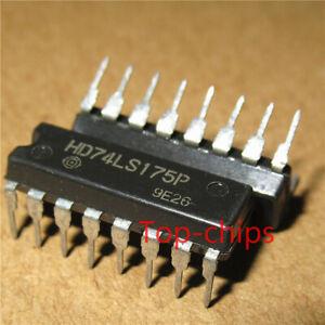 10PCS-74LS175-HD74LS175P-DIP16-Nuevo
