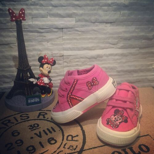 SUPERGA scarpe X BIMBI personalizzate DIPINTE A MANO MINNIE - BAMBINA N.18
