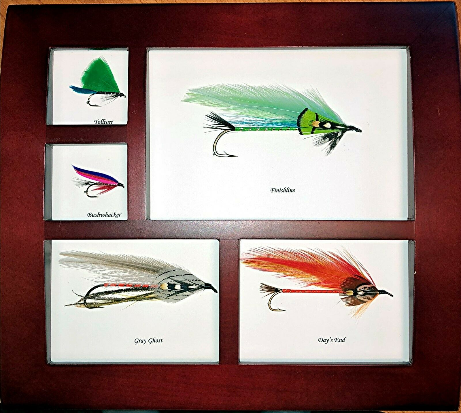 5 Framed and Mounted Trout  Streamer & Wet Flies  online fashion shopping