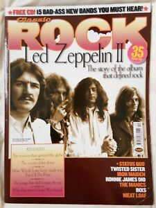 LED-ZEPPELIN-II-Quo-INXS-IRON-MAIDEN-Classic-ROCK-73-December-2004-Meat-Loaf