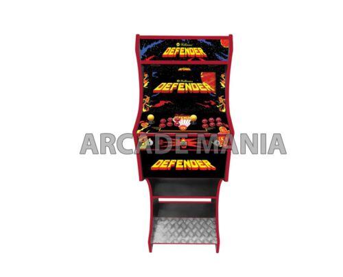 BARTOP ARCADE MACHINE WITH STAND  - DEFENDER THEMED ARCADE MACHINE