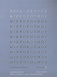 BARTOK MIKROKOSMOS Vol 6 eng//port//span//jap