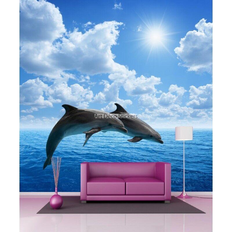 Papel Pintado Gigante Delfines 11065 11065