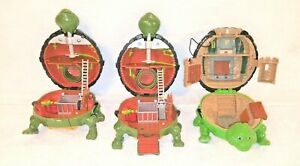 3-VINTAGE-1994-TEENAGE-MUTANT-NINJA-TURTLES-MINI-MUTANT-PLAYSETS-LEO-RAPH