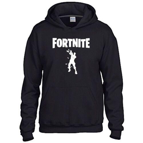 Fornite Danse Enfants Sweat à Capuche Inspiré Gaming Gamer vous Tuber taille L 9-11 vente!!!