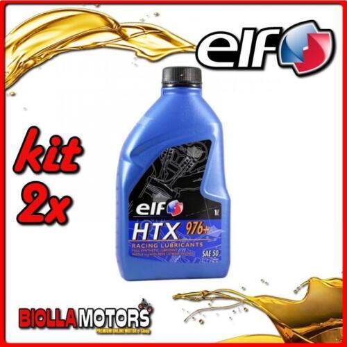 //plus 2T MISCELA KIT 2X LITRO OLIO ELF HTX 976