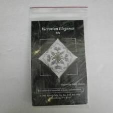 Victorian Elegance Lily Cross Stitch Ornament Kit Kathy Holicky