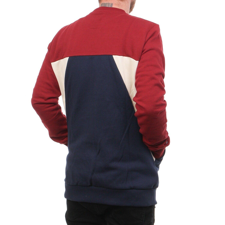 Reell colore colore colore Blocco Girocollo Pullover Uomo Sweatpulli Multicolore 34873 cab0a4