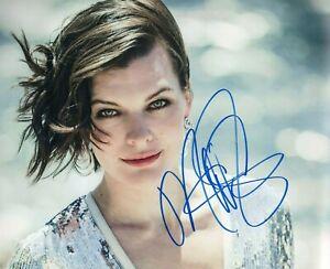 Milla Jovovich Signed Autographed 8x10 REPRINT Photo RP | eBay