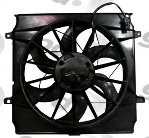 Engine-Cooling-Fan-Assembly-fits-2004-2005-Jeep-Liberty-GLOBAL-PARTS