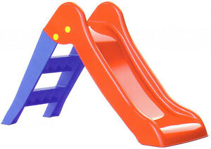 Childrens Kids My First Slide Indoor Outdoor Garden Toy Compact ...