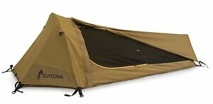 Image is loading Catoma-Tactical-Raider-Bivy-Tent-Coyote-Brown-With-  sc 1 st  eBay & Catoma Tactical Raider Bivy Tent Coyote Brown With Ground Sheet | eBay