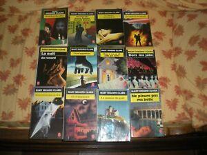 MARY-HIGGINS-CLARK-LOT-DE-12-ROMANS-EDITIONS-LIVRE-DE-POCHE