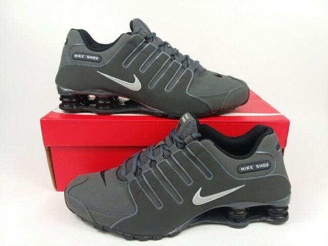 Nike Shox NZ Running Shoes Dark Grey Iron Ore 378341-059 Mens Size 11 NEW