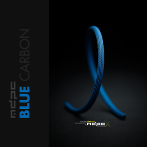 """CABLE SLEEVING MDPC-X /""""BLUE-CARBON/"""" MEDIUM"""