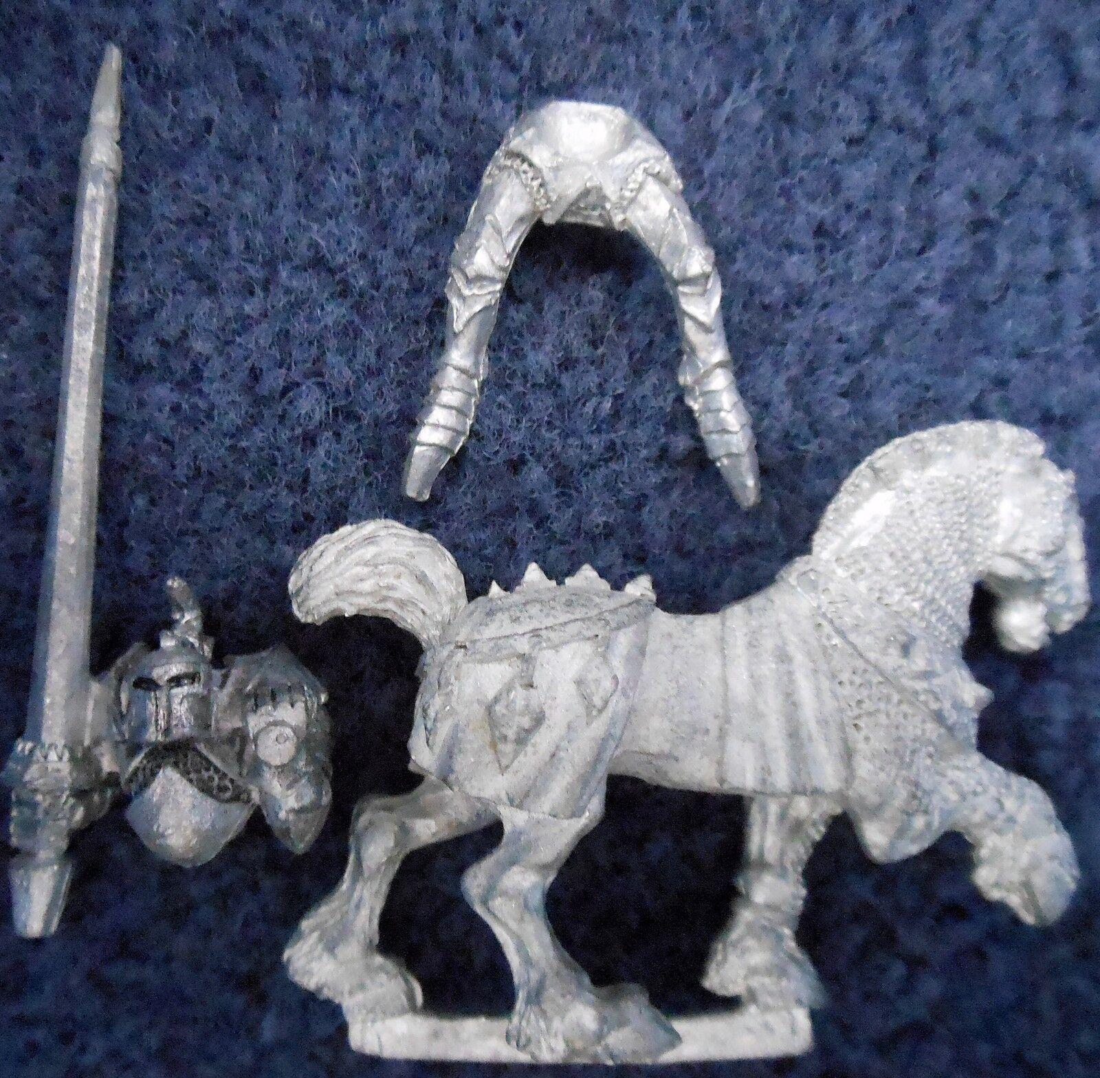 1988 Caos Caballero 0221 02 Juegos taller Warhammer army Reino de caballería Guerrero
