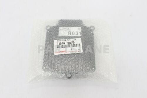 81016-60M70 Toyota OEM Genuine COMPUTER SUB-ASSY