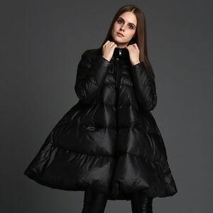 low priced 21d05 14465 Details zu Damen Winter ente Daunenjacke Dicke Warme Parka Kleid Mantel  Puffer ALinie XL