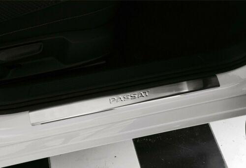 VW PASSAT B8 2015 up Chrome DOOR sill STAINLESS STEEL 4pcs.