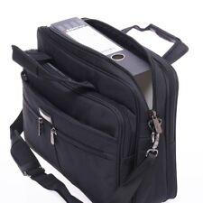 Messenger Bag Umhängetasche Aktentasche Herren Laptoptasche Arbeit Büro Schwarz