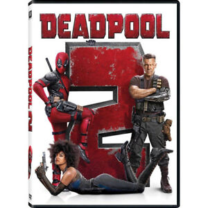 Deadpool-2-DVD-2018-NEW-Action-Comedy-Free-Shipping