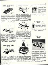 1956 ADVERT Wen Mac Toy Army Hillers Flying Platform Airplanes Marx Robin Hood