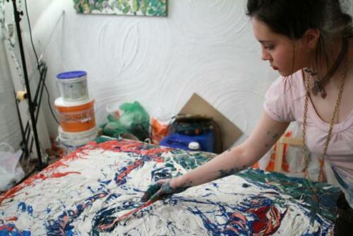 G00271 Moderne Abstrakte Kunst Gemälde Ölbild Bild Bilder Ölgemälde Keilrahmen