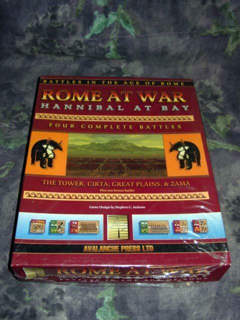 Avalanche Press 2002 - ROME at WAR WAR WAR    Fading Legions the Glory of Rome (SEALED) 52e82c
