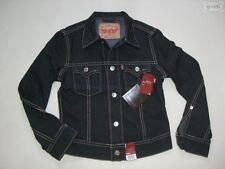Levi's® Type 1 Jacke Jeansjacke, Gr. M schwarz, NEU ! Rockabilly black Denim !