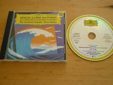 DEBUSSY - LA MER NOCTUNE JEUX UA - THE CLEVELAND ORCHESTRA CD