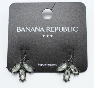 de55c7138 New Pair of Dangle Rhinestone Earrings from Banana Republic #BRE17 ...