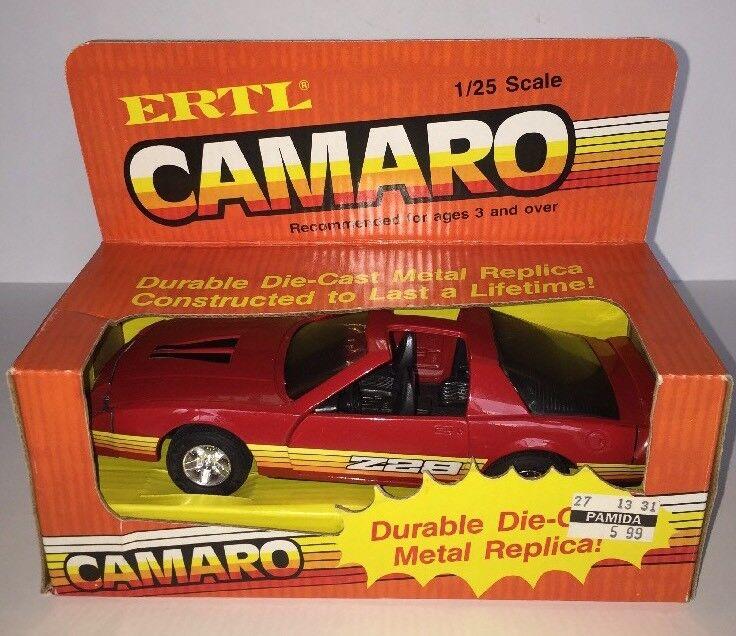 1980 ist ertl z28 camaro dauerhafte metall - spritzguss replik, 1  25 - skala, mib (b89)