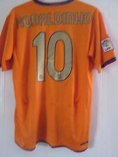 Barcelona Ronaldinho 10 2006-2007 Away Football Shirt Size Large /41166