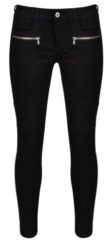 Ex H/&M DIVIDED Women/'s Cotton Skinny Fit Biker Jeans RRP £24.99 Size 6-14