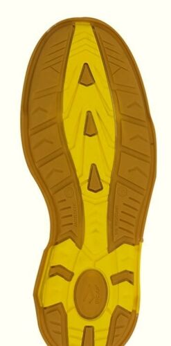 BICAP G4641 S3 Sicherheitsschuhe Arbeitsschuhe Sneaker metallfrei braun gelb