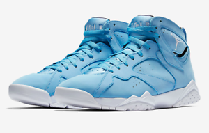 ce8ac46e40b9d Air Jordan 7 Retro VII Pantone University Blue Carolina 304775-400 ...
