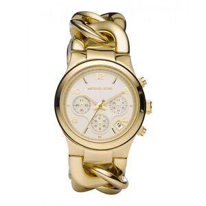 Details about Michael Kors MK3131 Ladies Runway Chronograph Watch UK Seller