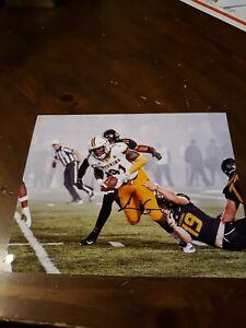 big sale 9e580 a7075 Detalles acerca de Carl Granderson Wyoming Cowboys signed 8x10 Photo Nfl-  mostrar título original