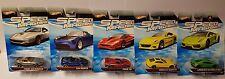 5x Hot Wheels Speed Machines Ferrari / tesla / Lamborghini NEW/OVP